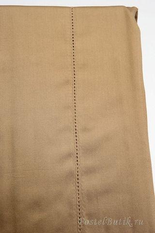 Наволочки 2шт 50х70 Caleffi Tinta Unita коричневые