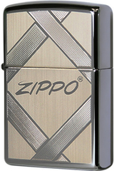 Зажигалка Zippo Unparalleled Tradition, Black Ice 20969