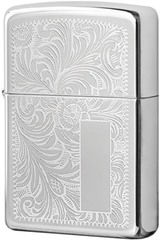 Зажигалка Zippo Venetian, High Polish Chrome 352