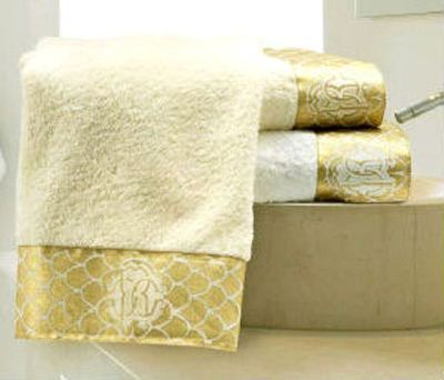 Наборы полотенец Набор полотенец 2 шт Roberto Cavalli Gold бежевый polotenze-gold-roberto-cavalli.jpg