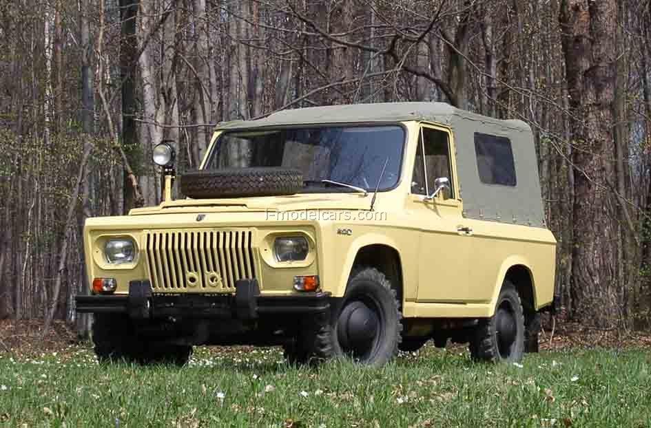 Aro 240 1:43 DeAgostini Auto Legends USSR #166