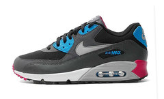 Кроссовки Мужские Nike Air Max 90 Dark Grey Blue White Cherry