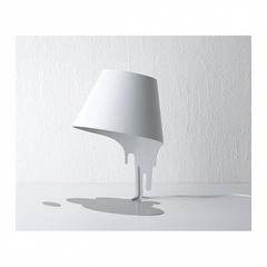 лампа Liquid настольная лампа белая