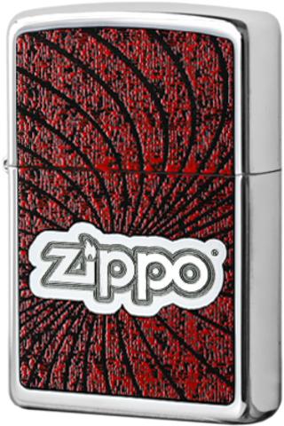 Купить Зажигалка Zippo Spiral, High Polish Chrome 24804 по доступной цене
