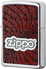 Зажигалка Zippo Spiral, High Polish Chrome 24804