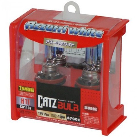 Газонаполненные лампы CATZ H11 CB1107N (4700К)