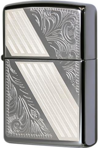 Купить Зажигалка Zippo Venetian Stripe, Black Ice® 24038 по доступной цене