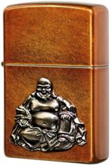 Зажигалка Zippo Buddha Emblem, Toffee Finish 21195