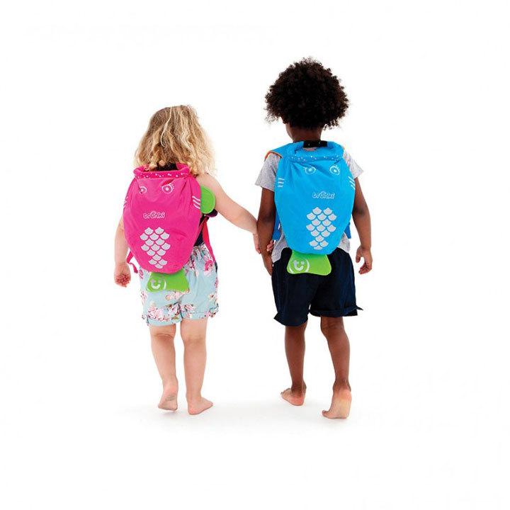 TRUNKI Рюкзак для бассейна и пляжа розовый