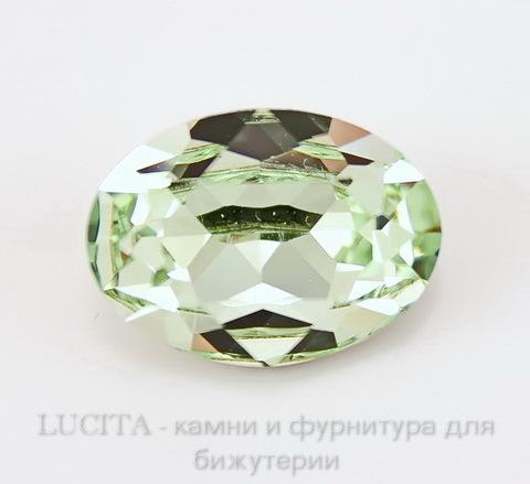 4120 Ювелирные стразы Сваровски Chrysolite (18х13 мм) ()