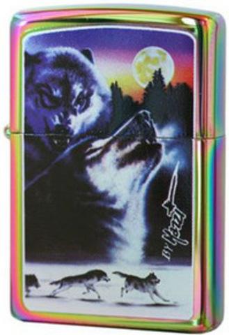 Купить Зажигалка Zippo Mazzi Untamed, Spectrum 24080 по доступной цене