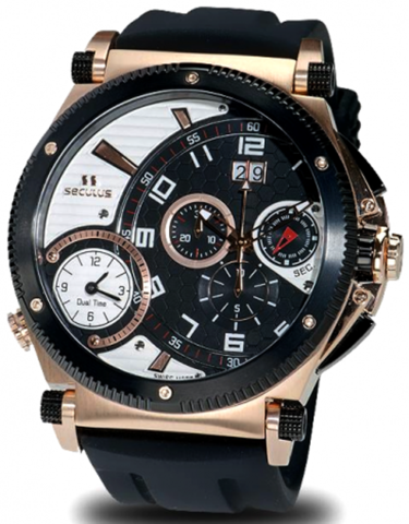 Купить Наручные часы Seculus 4500.2.504B SIL RB B-W по доступной цене