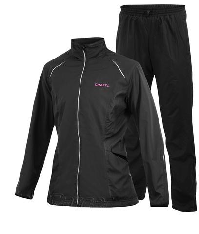 Женский костюм для бега Craft Active Wind black
