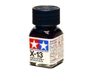 X-13 Краска Tamiya Синий Металлик Глянцевая (Metallic Blue), эмаль 10мл