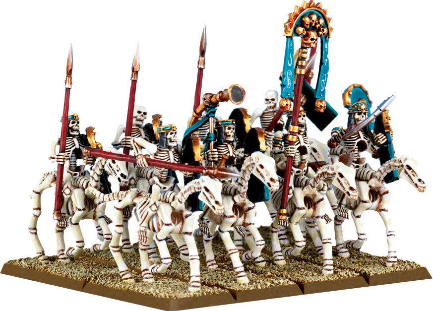 Tomb Kings Skeleton Horsemen