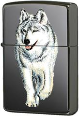 Зажигалка Zippo Wolf Black Ice® 769