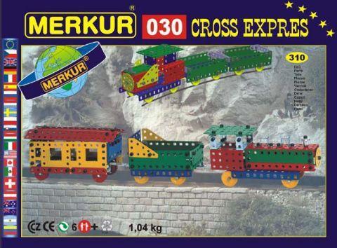 Merkur M-0306 Металлический конструктор CROSS-Экспресс