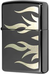 Зажигалка Zippo Tattoo Flame Ebony™ 24951