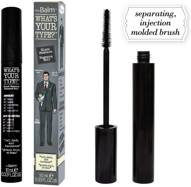 Тушь удлиняющая Whats Your Type Mascara - Tall, Dark And Handsomeƒ