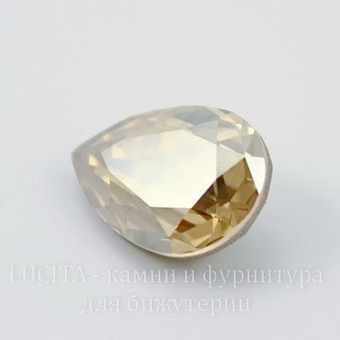 4320 Ювелирные стразы Сваровски Капля Crystal Golden Shadow (18х13 мм) ()