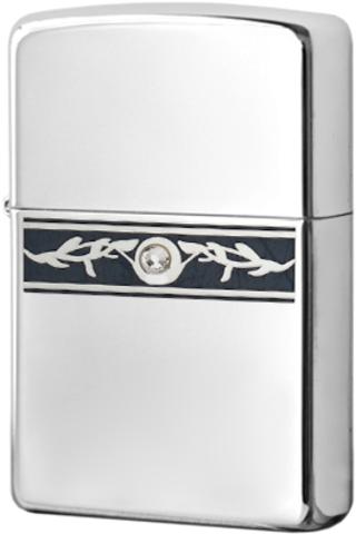 Купить Зажигалка Zippo Indigo Ivy, Polish Chrome 20894 по доступной цене