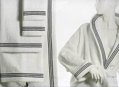 Набор полотенец 2 шт Lady Laura Suami белый