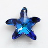 6721 Подвеска Сваровски Морская Звезда Crystal Bermuda Blue (20 мм) ()