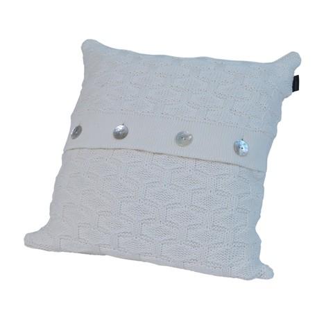 Элитная подушка декоративная Ponte Vecchio слоновая кость от Casual Avenue
