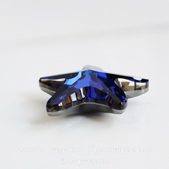 6721 Подвеска Сваровски Морская Звезда Crystal Bermuda Blue (20 мм)