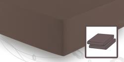 На резинке Простыня трикотажная 90-110x200 Elegante 8000 коричневая elitnaya-prostinya-na-rezinke-shokolad-77-ot-elegante-germaniya.jpg
