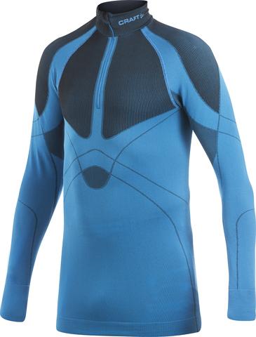 Рубашка Craft Warm Zip мужская синяя