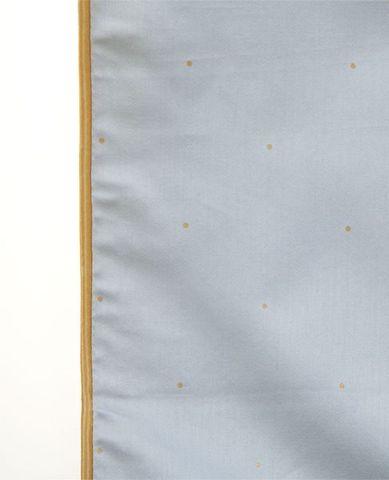 Наволочка декоративная 42х42 Luxberry Павлин голубая