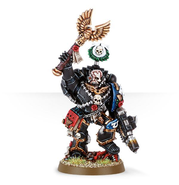 Space Marine Chaplain Cassius