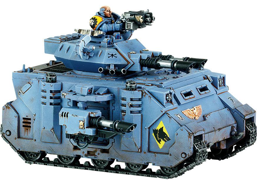 Space Marine Predator