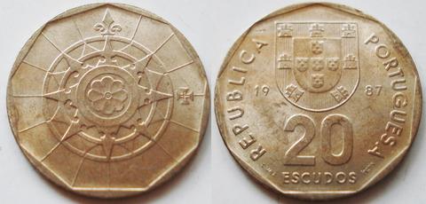 Португалия 20 эскудо