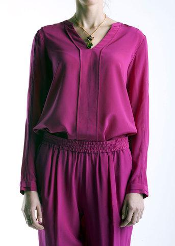 Блуза из шелка DIANE VON FURSTENBERG
