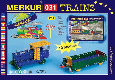 Merkur M-031 Металлический конструктор Модели поездов-1