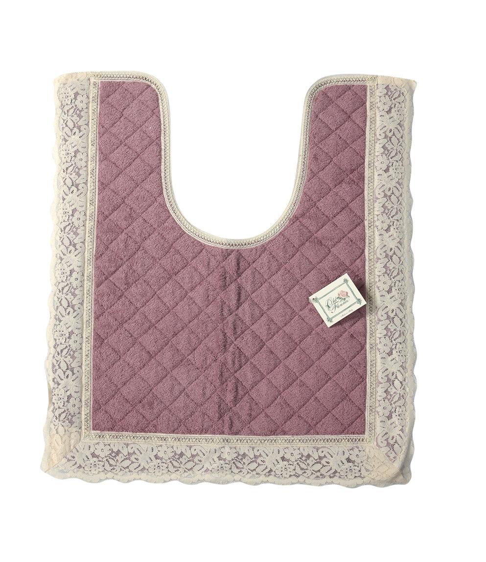 Коврики для унитаза Коврик для унитаза 50х60 Old Florence Валансье розовый elitnyy-kovrik-dlya-unitaza-valansie-rozovyy-ot-old-florence-italiya.jpg