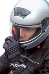Дворник на перчатку для протирки визора шлема