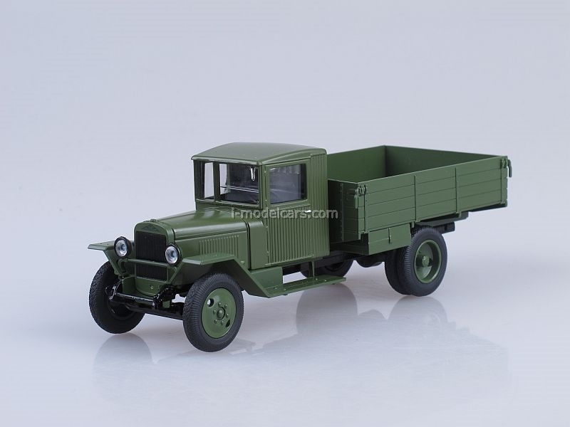 ZIS-5V board light green 1:43 Nash Avtoprom