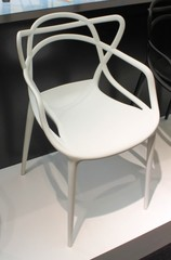 стул The Masters chair by Philippe Starck design ( kartell ) - белый