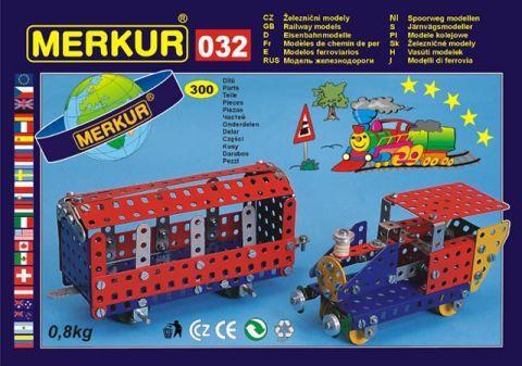 Merkur M-0320 Металлический конструктор Модели поездов-2