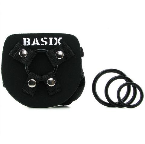Универсальные трусики harness Basix Universal Harness - Plus Size