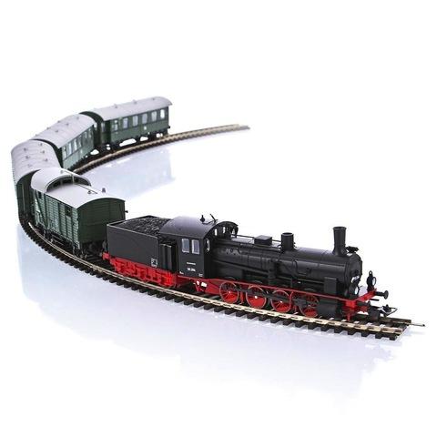 PIKO 57121 Стартовый набор «Паровоз с пассажирским составом», 1:87
