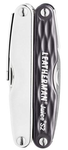 Мультитул Leatherman Juice S2 серый гранит (подарочная упаковка)
