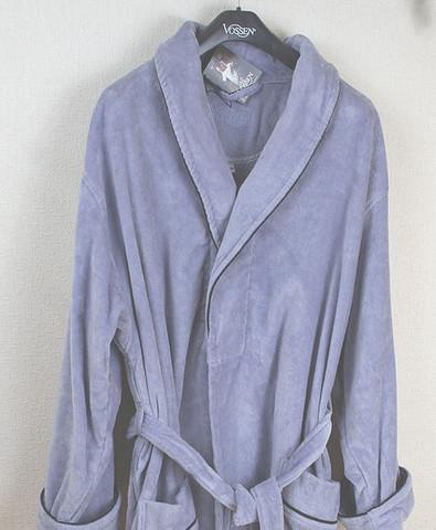 Элитный халат махрово-велюровый Dean malve от Vossen