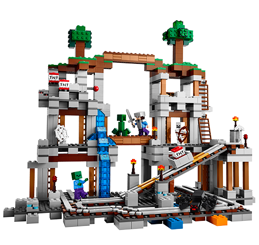 Лего Майнкрафт 21118 Шахта
