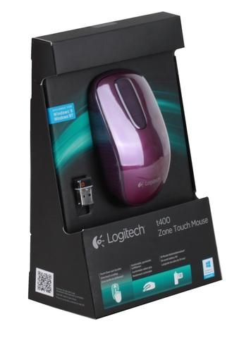 Мышь LOGITECH T400 Touch Wild Plum