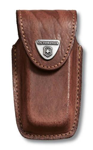 Чехол кожаный коричневый (шт.) 4.0535, для Swiss Army Knives or EcoLine 91 mm, толщина ножа 5-8 уров