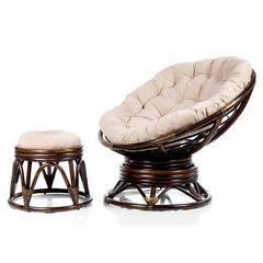 Кресло Pretoria с пуфиком